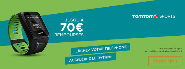 Offre remboursement TomTom