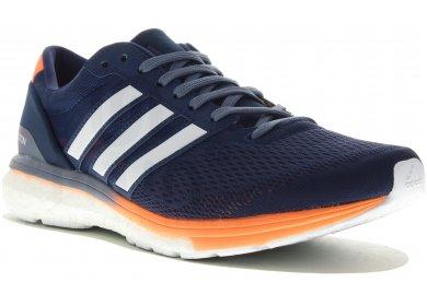 chaussures de course adizero boston boost 6 de adidas femmes ...