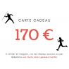 CARTE CADEAU 170€