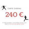 CARTE CADEAU 240€